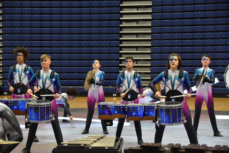 MacGavock High School Indoor Drumline at the 2020 WGI Dayton Percussion Regional Prelims