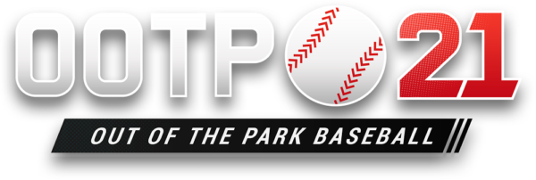 Out of the Park Baseball 21 logo