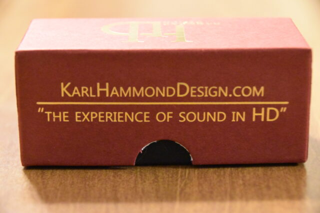 Hammond Design Packaging - Side View