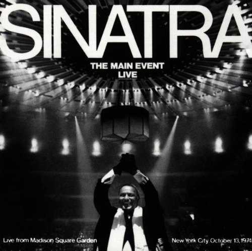 Frank Sinatra: The Main Event - Live album cover