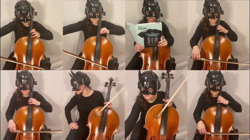 Batman for 8 Cellos