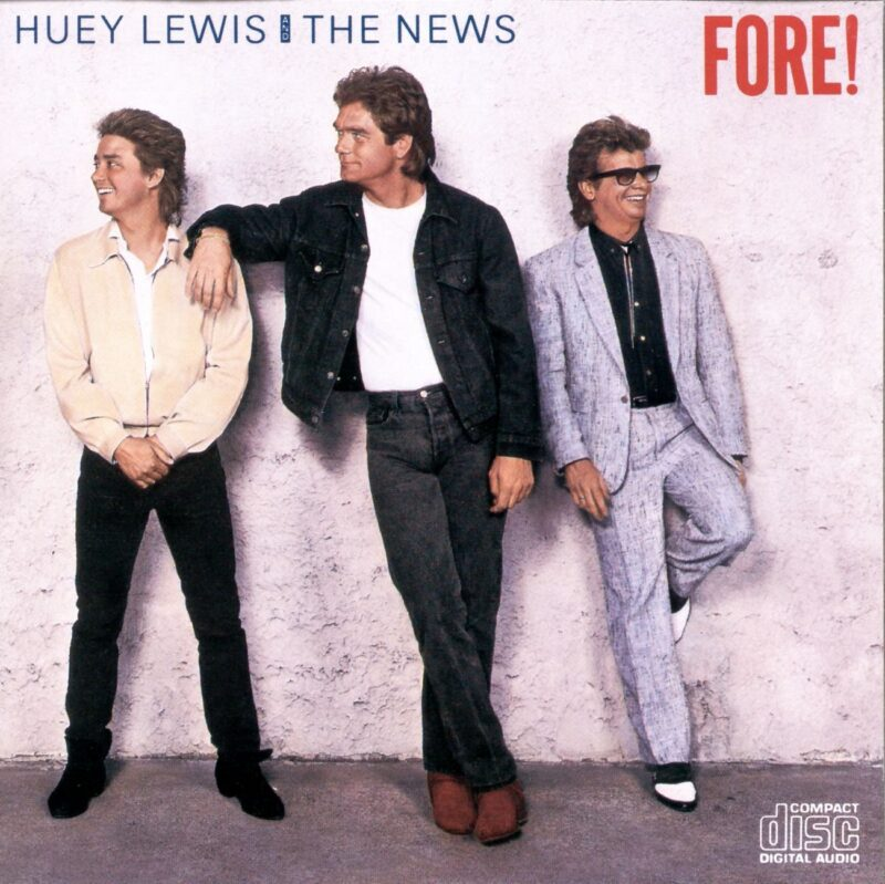 Huey Lewis & the News Fore! album cover