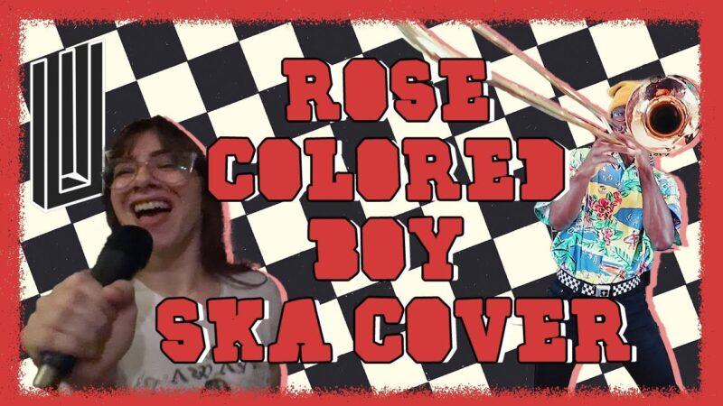 Rose Colored Boy - Paramore (SKA/PUNK COVER) scren shot