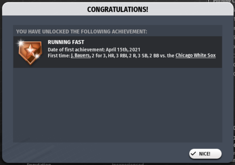Game 12's achievement!