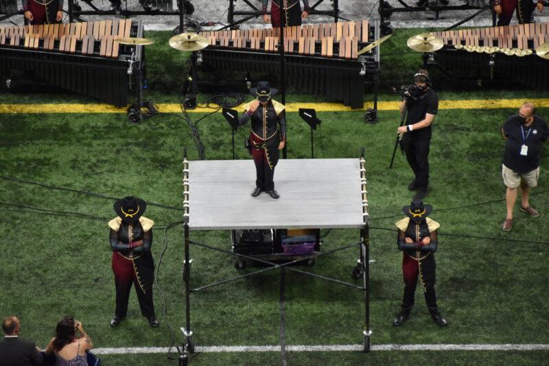 2021 Troopers drum majors